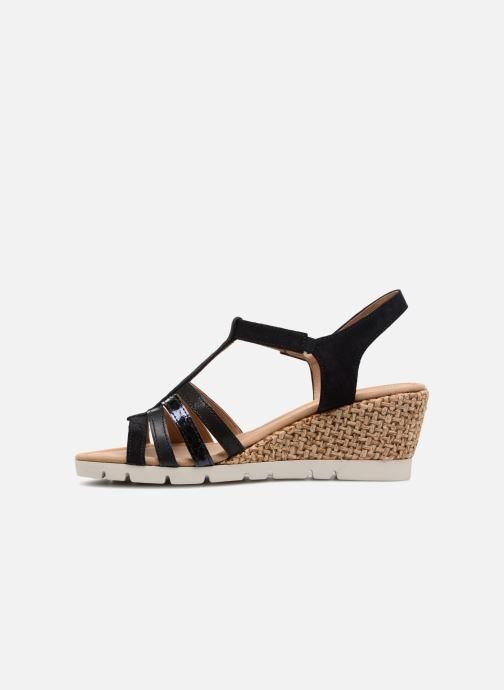 Sandales et nu-pieds Gabor Isla Bleu vue face