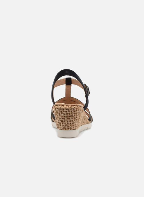 Sandales et nu-pieds Gabor Isla Bleu vue droite