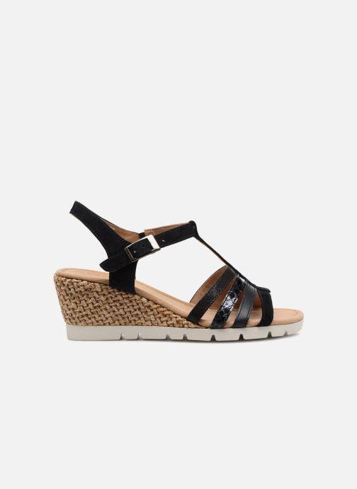 Sandales et nu-pieds Gabor Isla Bleu vue derrière