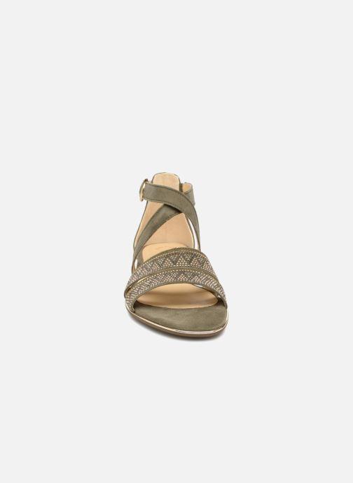 Sandales et nu-pieds Gabor Luz Vert vue portées chaussures