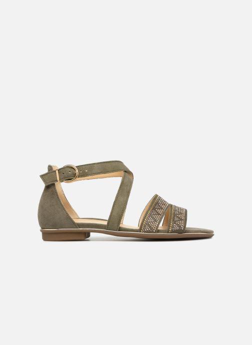 Sandales et nu-pieds Gabor Luz Vert vue derrière