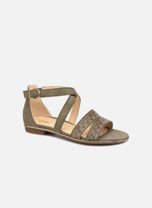 Sandales et nu-pieds Gabor Luz Vert vue détail/paire