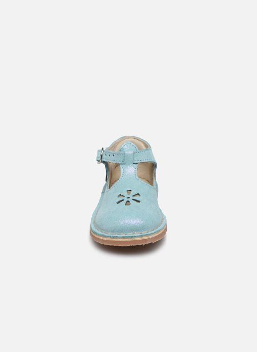 Ballerines Aster Bimbo Bleu vue portées chaussures