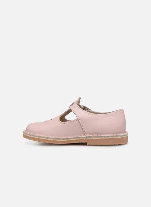 Ballerines Aster Dingo 2 Rose vue face