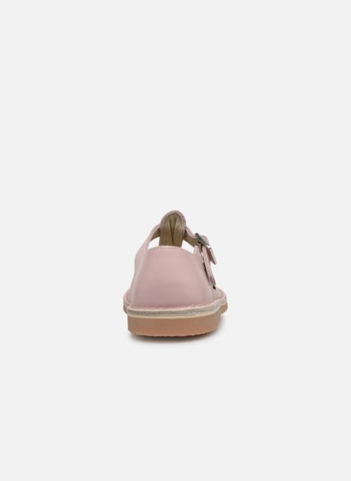 Ballet pumps Aster Dingo Pink view from the right