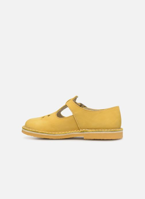 Ballet pumps Aster Dingo Yellow front view