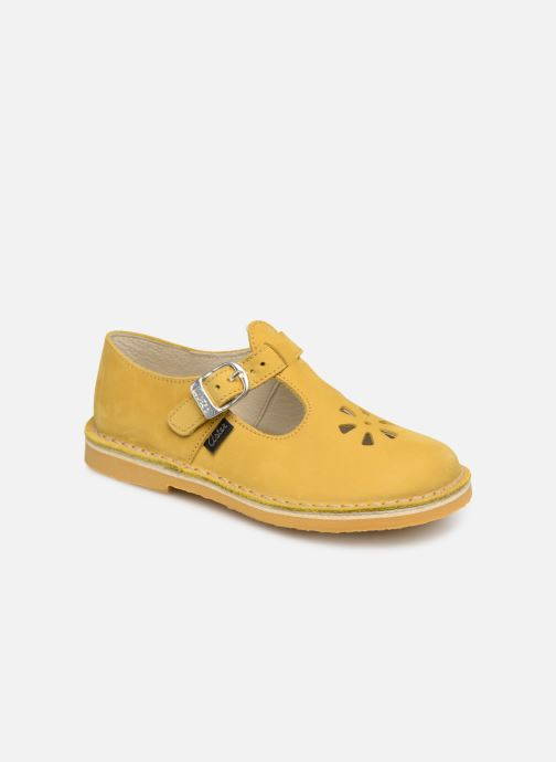 Ballet pumps Aster Dingo Yellow detailed view/ Pair view