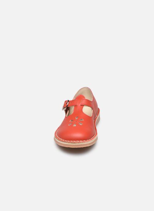Ballerines Aster Dingo Orange vue portées chaussures
