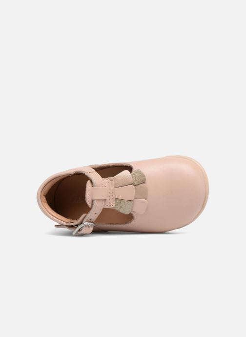Ballet pumps Aster Olea Pink view from the left