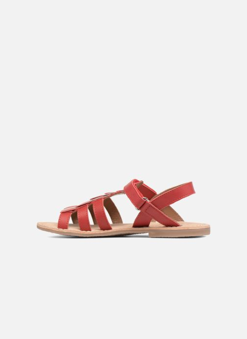 Sandales et nu-pieds Aster Corelle Rose vue face
