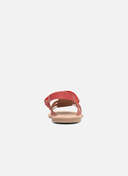 Sandales et nu-pieds Aster Corelle Rose vue droite