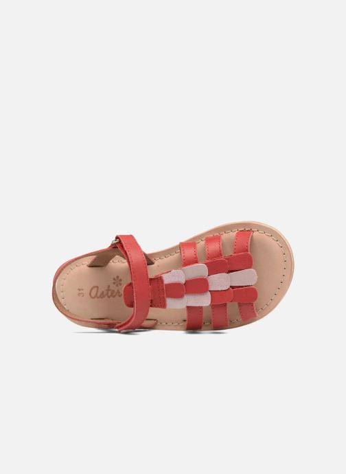 Sandales et nu-pieds Aster Corelle Rose vue gauche