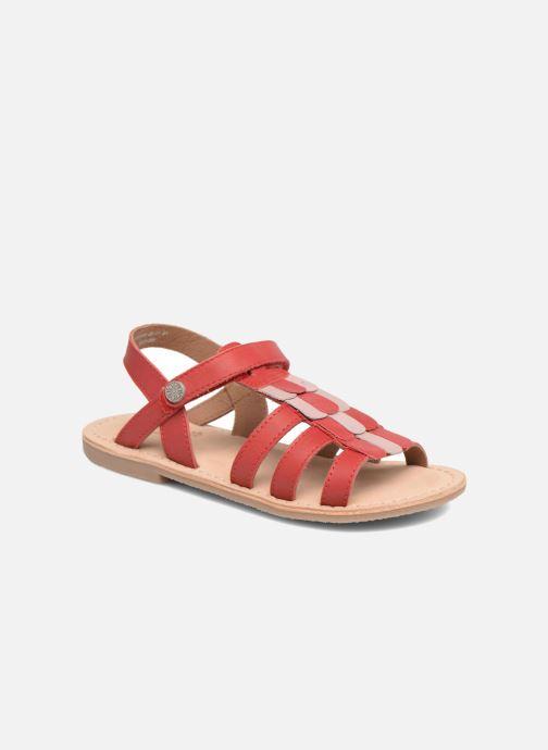 Sandales et nu-pieds Aster Corelle Rose vue détail/paire
