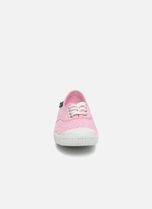 Baskets Aster Miley Rose vue portées chaussures