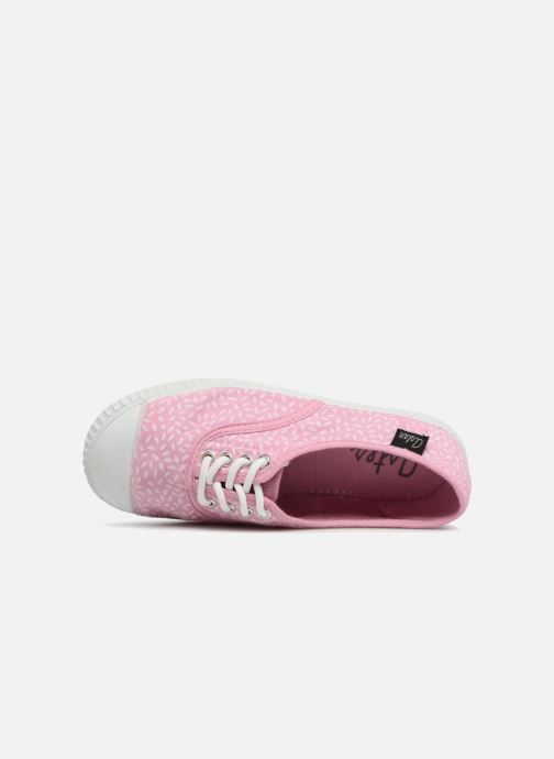 Trainers Aster Miley Pink view from the left