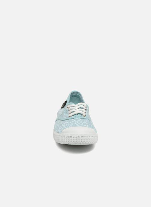Baskets Aster Miley Bleu vue portées chaussures