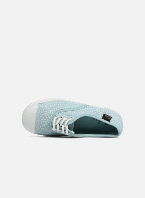 Sneaker Aster Miley blau ansicht von links