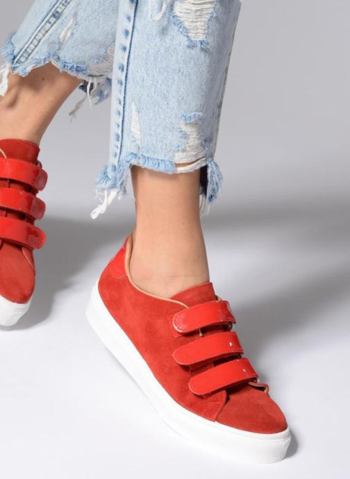 Sneakers Made by SARENZA Busy Girl Basket #1 Rosso immagine dal basso
