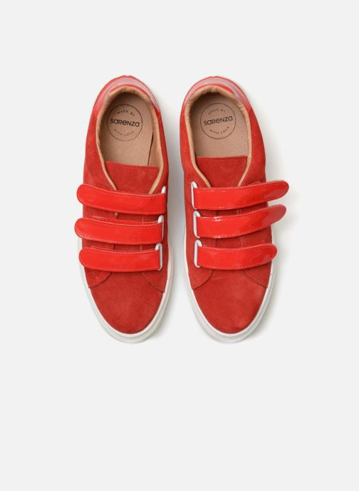 Sneakers Made by SARENZA Busy Girl Basket #1 Rosso modello indossato