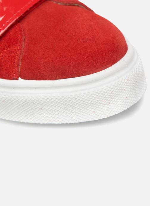 Sneakers Made by SARENZA Busy Girl Basket #1 Rosso immagine sinistra