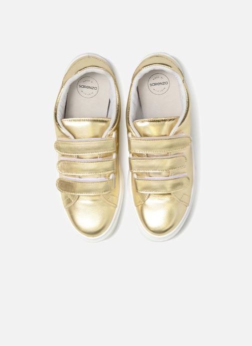 Trainers Made by SARENZA Busy Girl Basket #1 Bronze and Gold model view