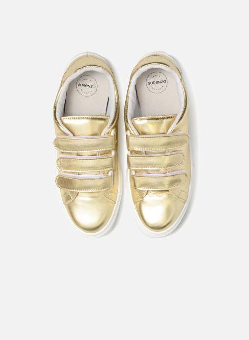 Sneakers Made by SARENZA Busy Girl Basket #1 Oro e bronzo modello indossato