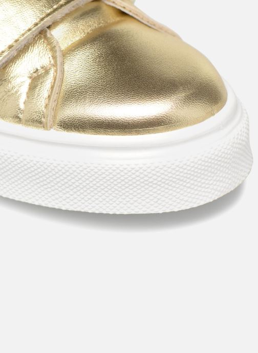 Sneakers Made by SARENZA Busy Girl Basket #1 Oro e bronzo immagine sinistra