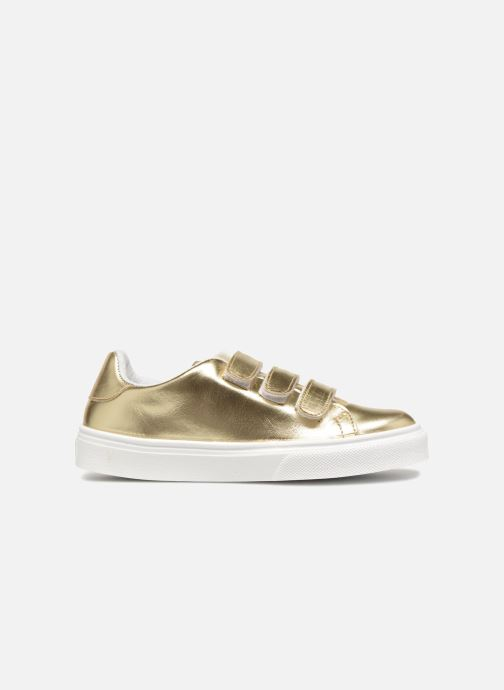 Trainers Made by SARENZA Busy Girl Basket #1 Bronze and Gold detailed view/ Pair view