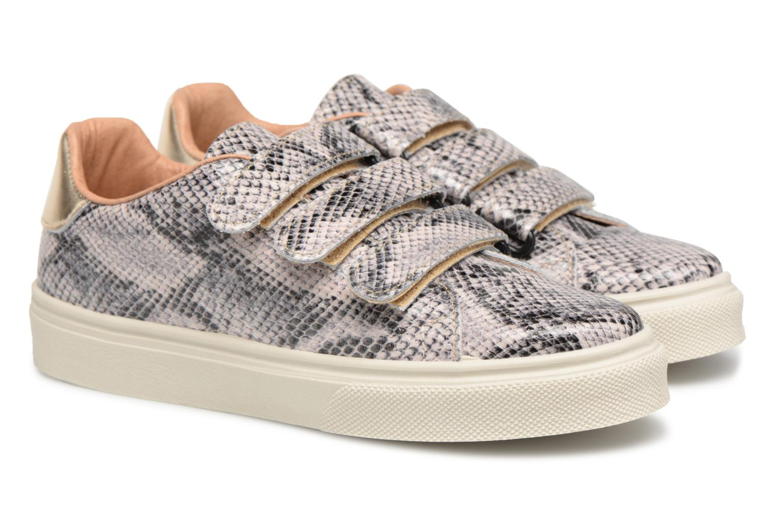 Sneakers Made by SARENZA Busy Girl Basket #1 Beige achterkant