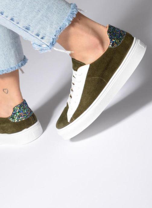 Sneaker Made by SARENZA Bombay Babes Baskets #1 grün ansicht von unten / tasche getragen