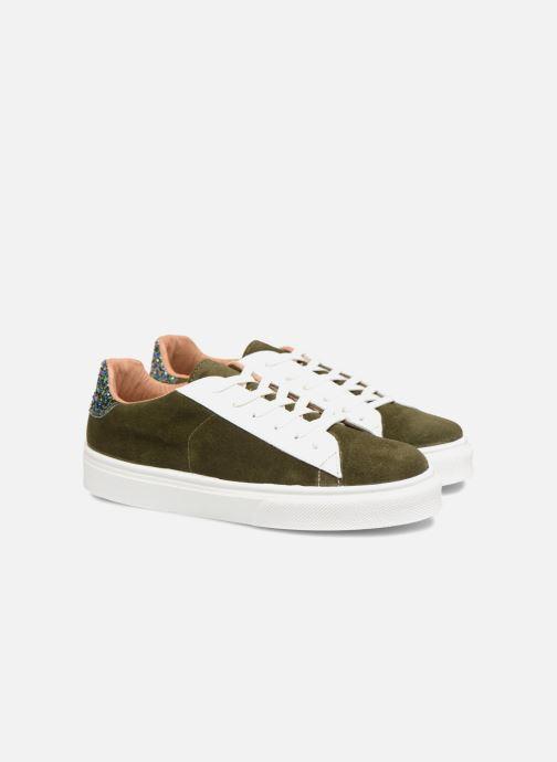 Sneaker Made by SARENZA Bombay Babes Baskets #1 grün ansicht von hinten