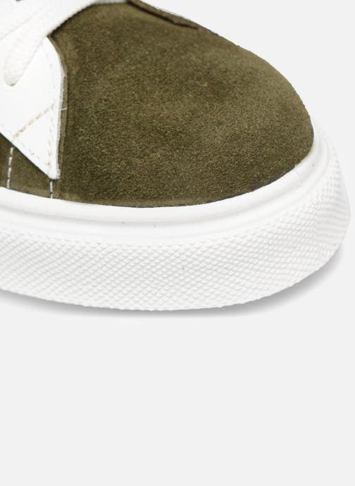 Sneaker Made by SARENZA Bombay Babes Baskets #1 grün ansicht von links