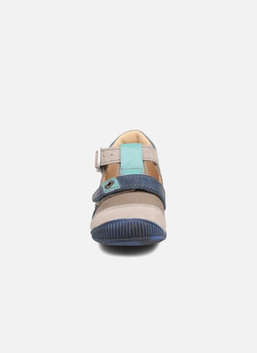 Bottines d'été GBB Stanislas Beige vue portées chaussures