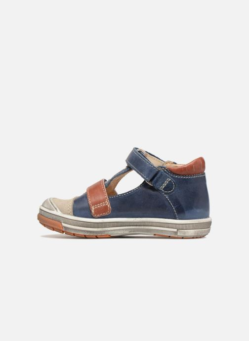 Sneakers GBB Samuel Blauw voorkant