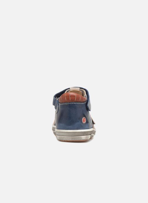 Sneakers GBB Samuel Blauw rechts