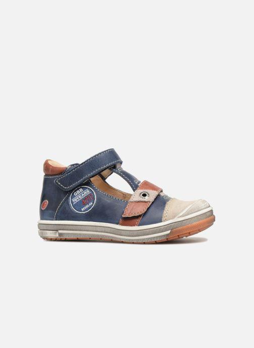 Sneakers GBB Samuel Blauw achterkant