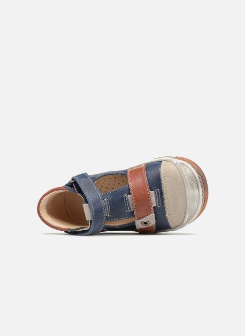 Sneakers GBB Samuel Blauw links