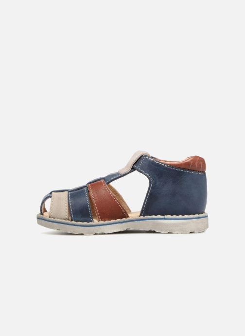 Sandales et nu-pieds GBB Sloan Bleu vue face