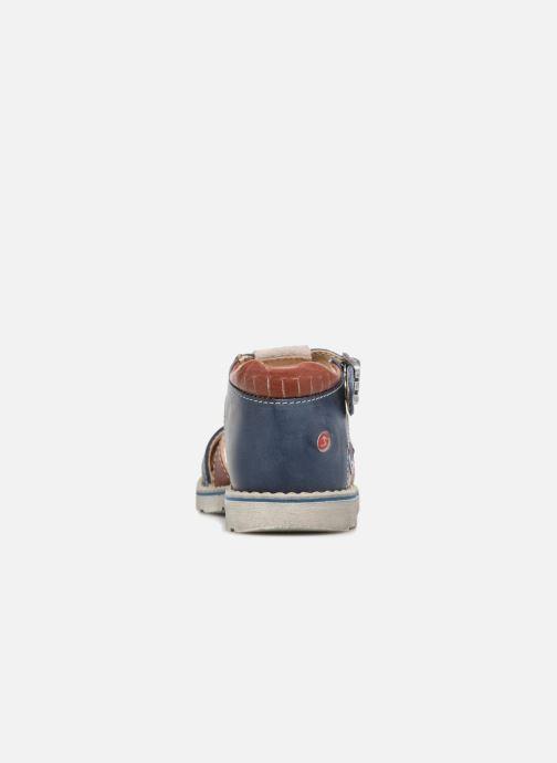 Sandales et nu-pieds GBB Sloan Bleu vue droite