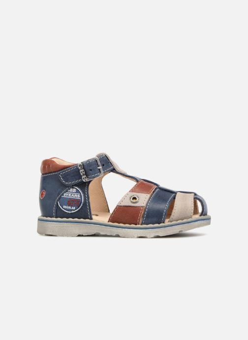Sandales et nu-pieds GBB Sloan Bleu vue derrière