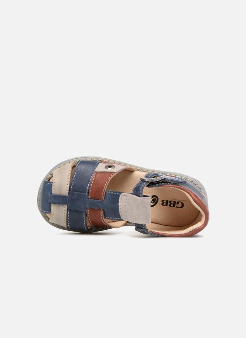 Sandales et nu-pieds GBB Sloan Bleu vue gauche
