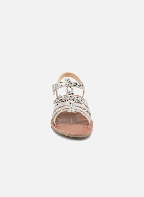 Sandali e scarpe aperte GBB Bangkok Argento modello indossato