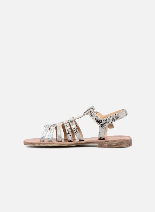 Sandales et nu-pieds GBB Bangkok Argent vue face