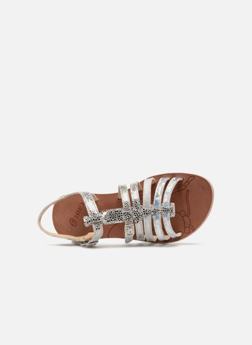 Sandals GBB Bangkok Silver view from the left