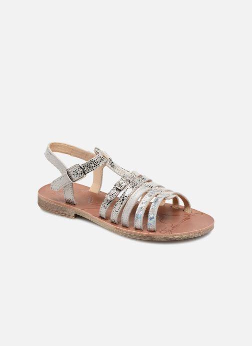 Sandales et nu-pieds GBB Bangkok Argent vue détail/paire