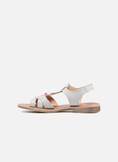 Sandales et nu-pieds GBB Enrica Blanc vue face