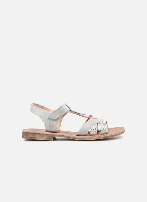 Sandales et nu-pieds GBB Enrica Blanc vue derrière