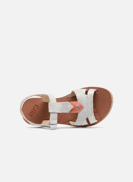 Sandales et nu-pieds GBB Enrica Blanc vue gauche