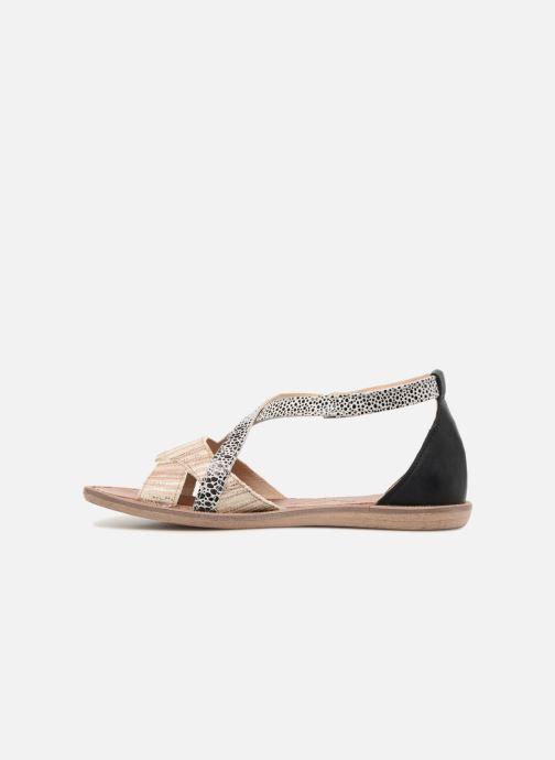 Sandales et nu-pieds GBB Cristina Multicolore vue face