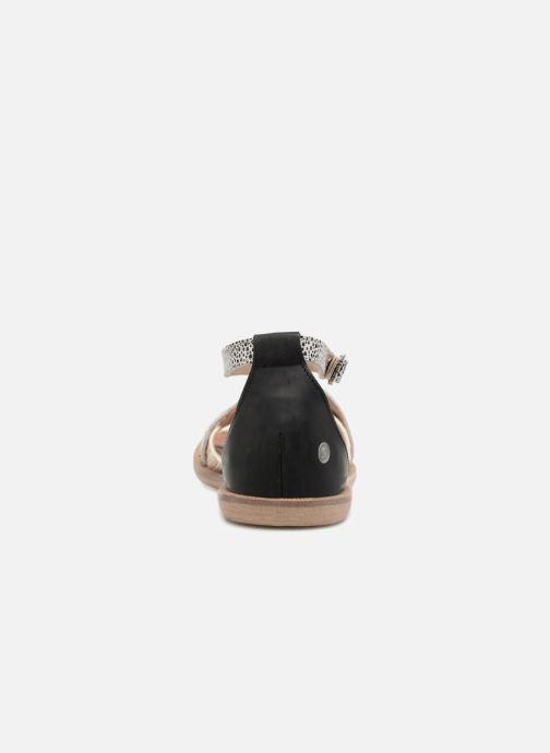 Sandales et nu-pieds GBB Cristina Multicolore vue droite